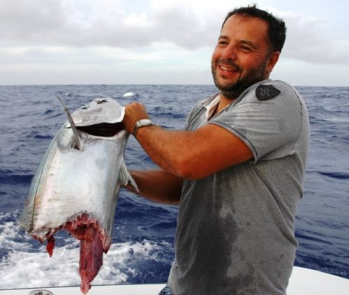 Doogy cut on jigging - Rod Fishing Club - Rodrigues Island - Mauritius - Indian Ocean