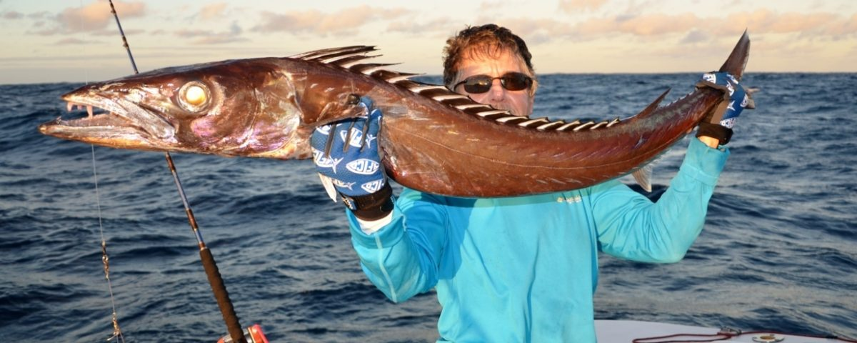 Escolier gracile ou Thyrsitoides marleyi - Rod Fishing Club - Ile Rodrigues - Maurice - Océan Indien