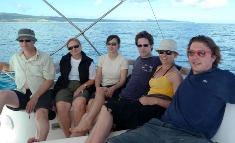 Family pic - Rod Fishing Club - Rodrigues Island - Mauritius - Indian Ocean
