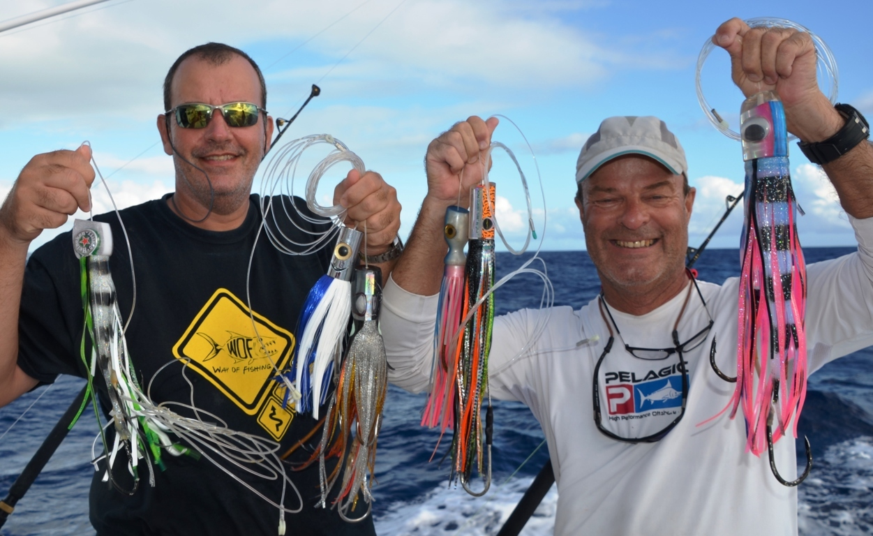 Good lures for trolling - Rod Fishing Club - Rodrigues Island - Mauritius - Indian Ocean