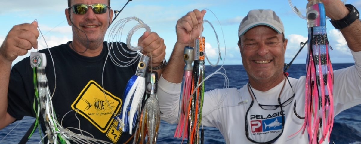 Lures for marlin - Rod Fishing Club - Rodrigues Island - Mauritius - Indian Ocean