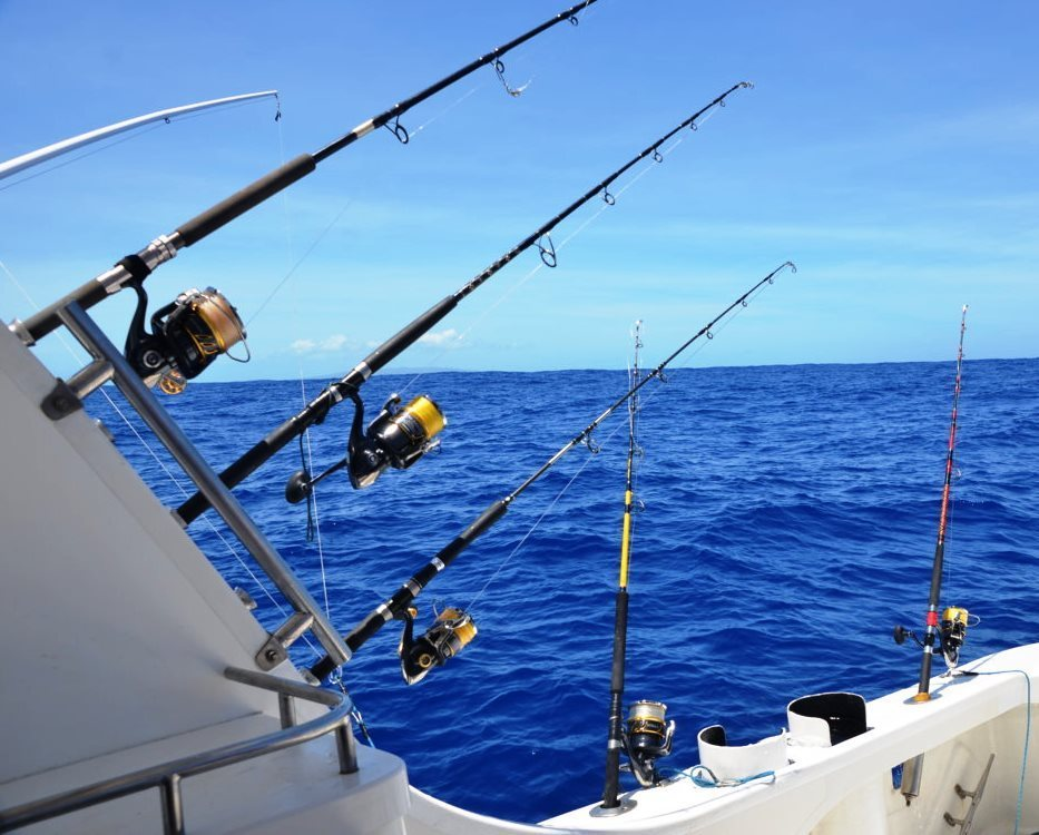Matériel jigging et Heavy Spinning sur Black Marlin - Rod Fishing Club - Ile Rodrigues - Maurice - Océan Indien