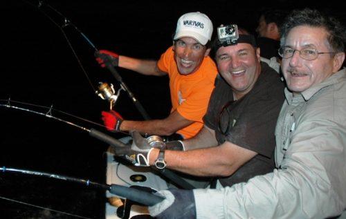 Strikes at night - Rod Fishing Club - Rodrigues Island - Mauritius - Indian Ocean
