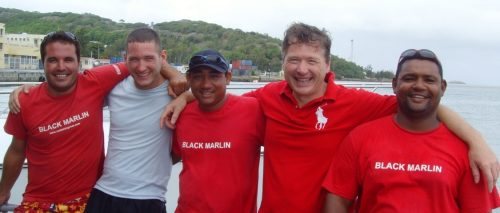 Team and crew - Rod Fishing Club - Rodrigues Island - Mauritius - Indian Ocean
