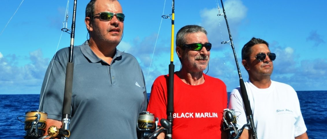 The Heavy Spinning Team 1 - Rod Fishing Club - Rodrigues Island - Mauritius - Indian Ocean