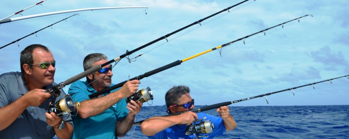 The Heavy Spinning Team 2 - Rod Fishing Club - Rodrigues Island - Mauritius - Indian Ocean