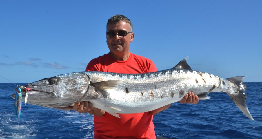 barracuda - Rod Fishing Club - Ile Rodrigues - Maurice - Océan Indien