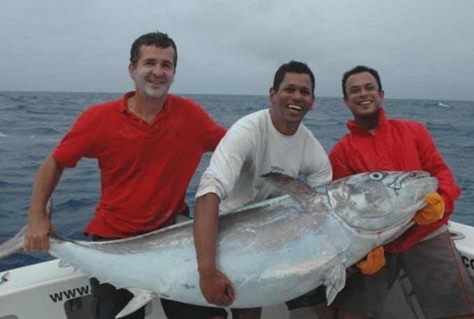 doggy de 75kg - Rod Fishing Club - Ile Rodrigues - Maurice - Océan Indien