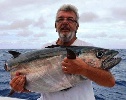 doggy eaten by shark - Rod Fishing Club - Rodrigues Island - Mauritius - Indian Ocean