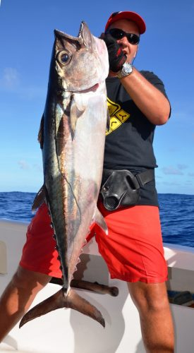 doggy on jigging - Rod Fishing Club - Rodrigues Island - Mauritius - Indian Ocean