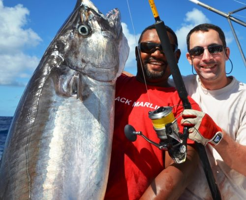 doggy on shimano spheros - Rod Fishing Club - Rodrigues Island - Mauritius - Indian Ocean