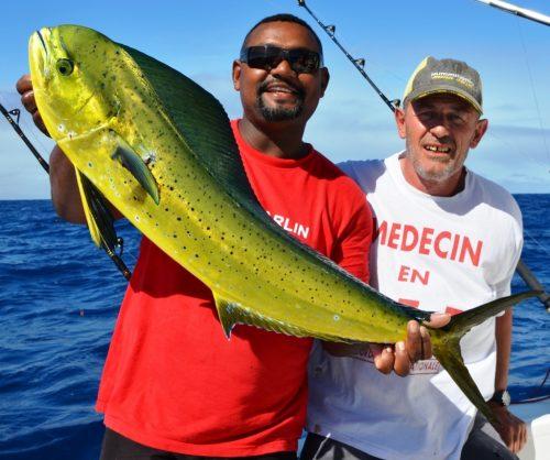 dorado - Rod Fishing Club - Rodrigues Island - Mauritius - Indian Ocean