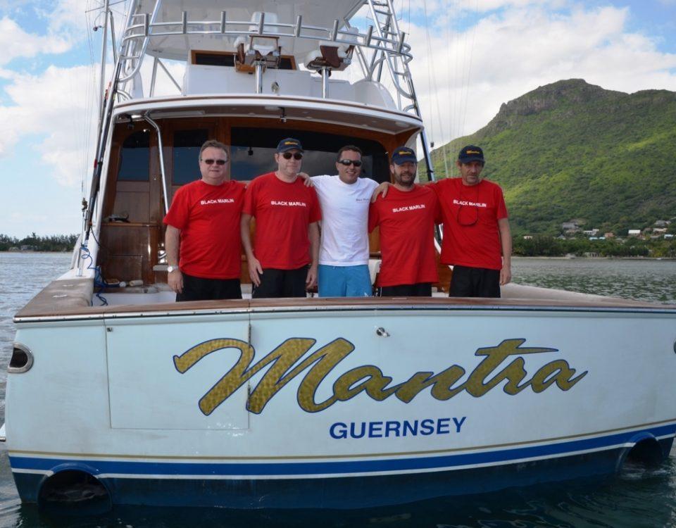 family pic - Rod Fishing Club - Rodrigues Island - Mauritius - Indian Ocean