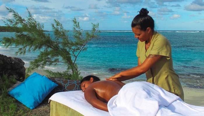 la douceur des massages - crédit photo Serge Marizy - Rod Fishing Club - Ile Rodrigues - Maurice - Océan Indien_1