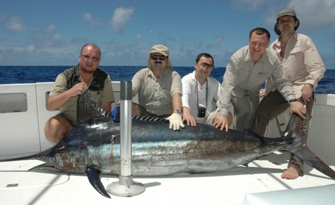 marlin - Rod Fishing Club - Ile Rodrigues - Maurice - Océan Indien