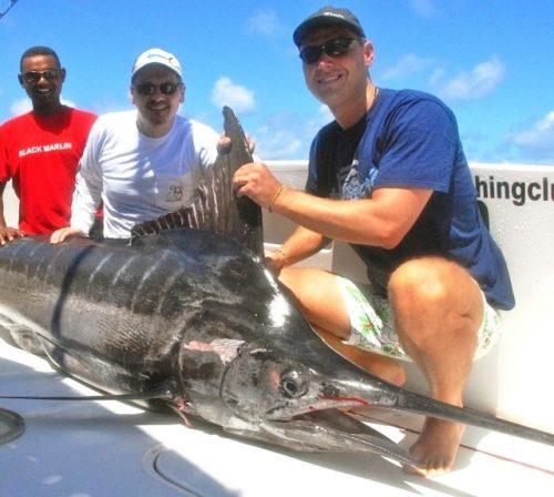 marlin bleu de 175.5kg - Rod Fishing Club - Ile Rodrigues - Maurice - Océan Indien