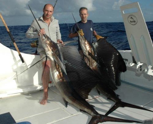 voiliers - Rod Fishing Club - Ile Rodrigues - Maurice - Océan Indien