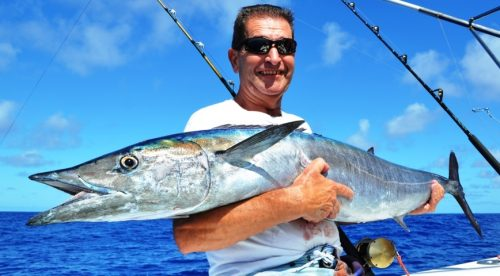 wahoo - Rod Fishing Club - Rodrigues Island - Mauritius - Indian Ocean