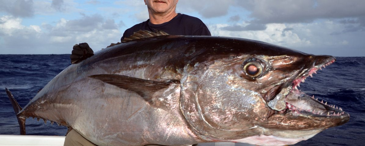 70kg doggy for Claudius - Rod Fishing Club - Rodrigues Island - Mauritius - Indian Ocean