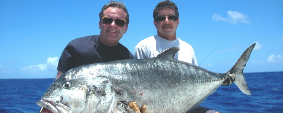 Carangue ignobilis 39kg en pêche au jig par André - Rod Fishing Club - Ile Rodrigues - Maurice - Océan Indien