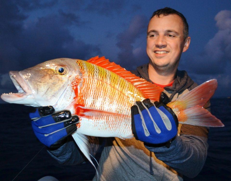 Dame Berri (Lethrinus mahsena) - - Rod Fishing Club - Ile Rodrigues - Maurice - Océan Indien