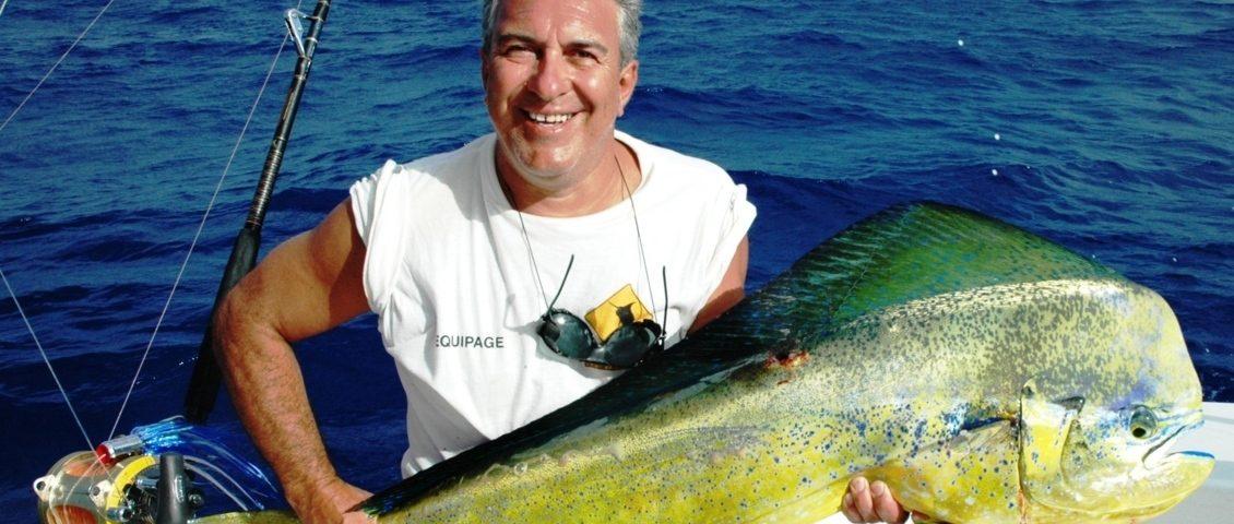 Dorado by Patrice - Rod Fishing Club - Rodrigues Island - Mauritius - Indian Ocean