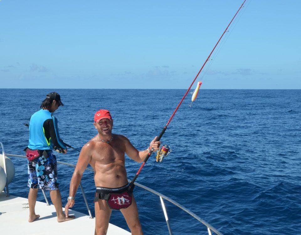 Jigging Master Israel en 2011 - Rod Fishing Club - Ile Rodrigues - Maurice - Océan Indien