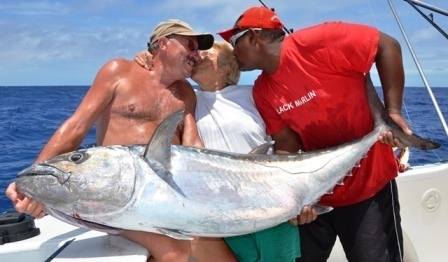 Kiss for the Joker - Rod Fishing Club - Rodrigues Island - Mauritius - Indian Ocean