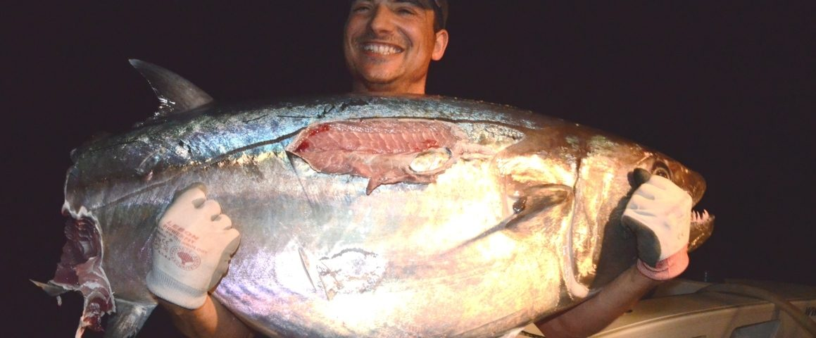 Pierre and his cutting dog...- Rod Fishing Club - Rodrigues Island - Mauritius - Indian Ocean