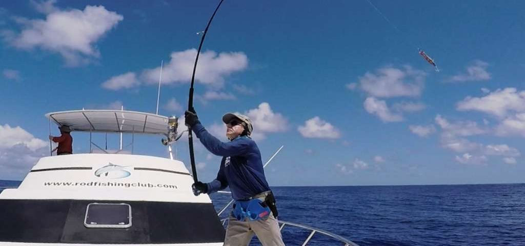 Popping session for Claudius - Rod Fishing Club - Rodrigues Island - Mauritius - Indian Ocean