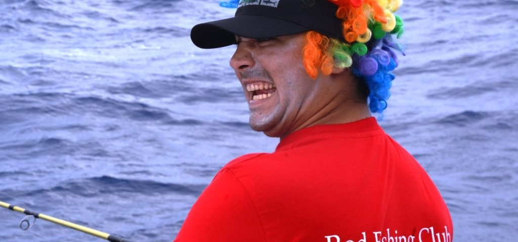 Pussy Cat on board.....- Rod Fishing Club - Rodrigues Island - Mauritius - Indian Ocean.