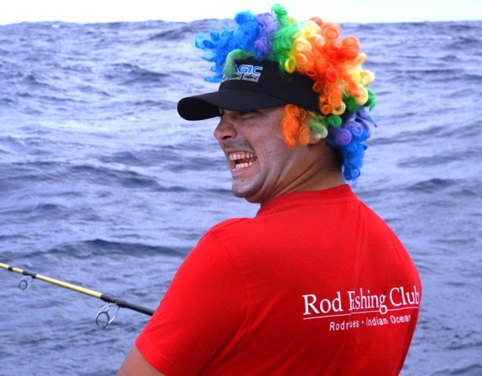 Pussy Cat on board.....- Rod Fishing Club - Rodrigues Island - Mauritius - Indian Ocean.