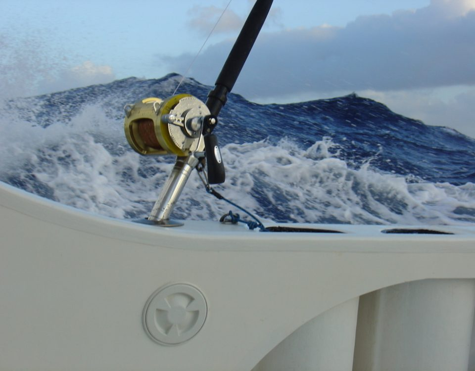 Quite rough weather...- Rod Fishing Club - Rodrigues Island - Mauritius - Indian Ocean