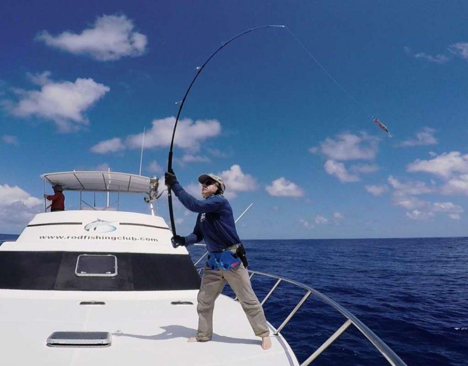 Séance de lancer pour Claudius - Rod Fishing Club - Ile Rodrigues - Maurice - Océan Indien