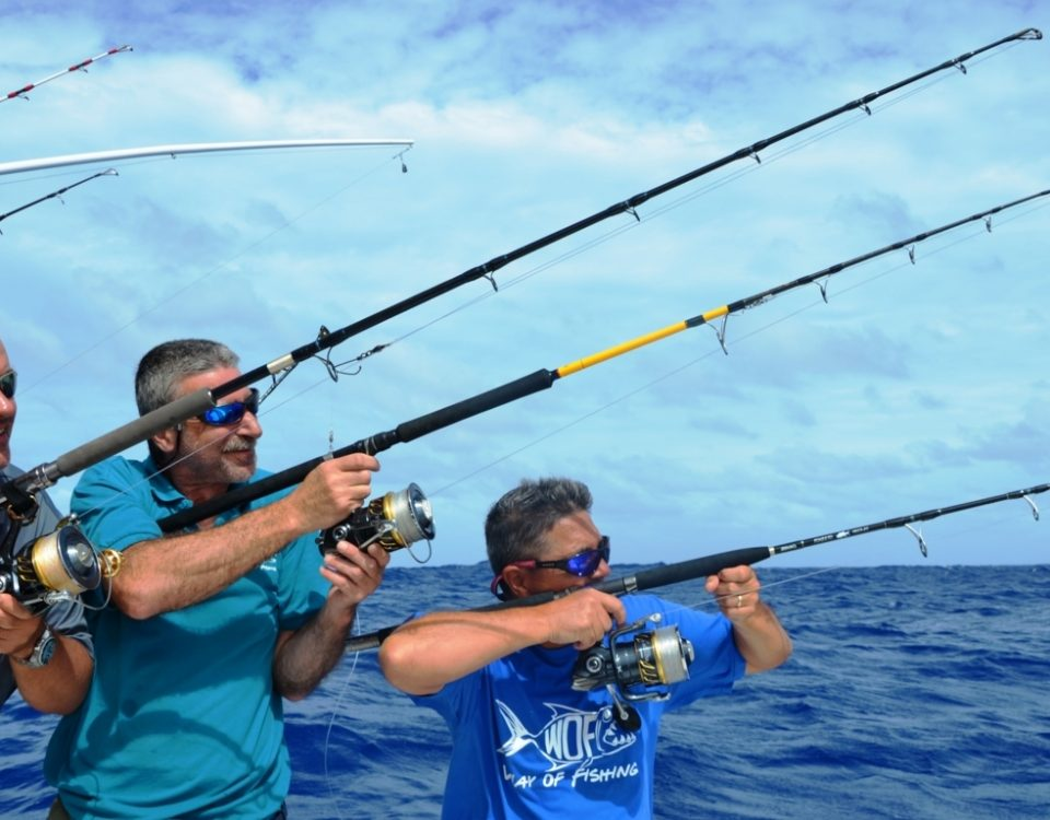 The Heavy Spinning Team - Rod Fishing Club - Rodrigues Island - Mauritius - Indian Ocean