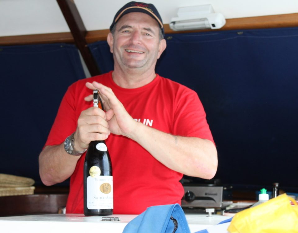 Very important moment on board - Rod Fishing Club - Rodrigues Island - Mauritius - Indian Ocean
