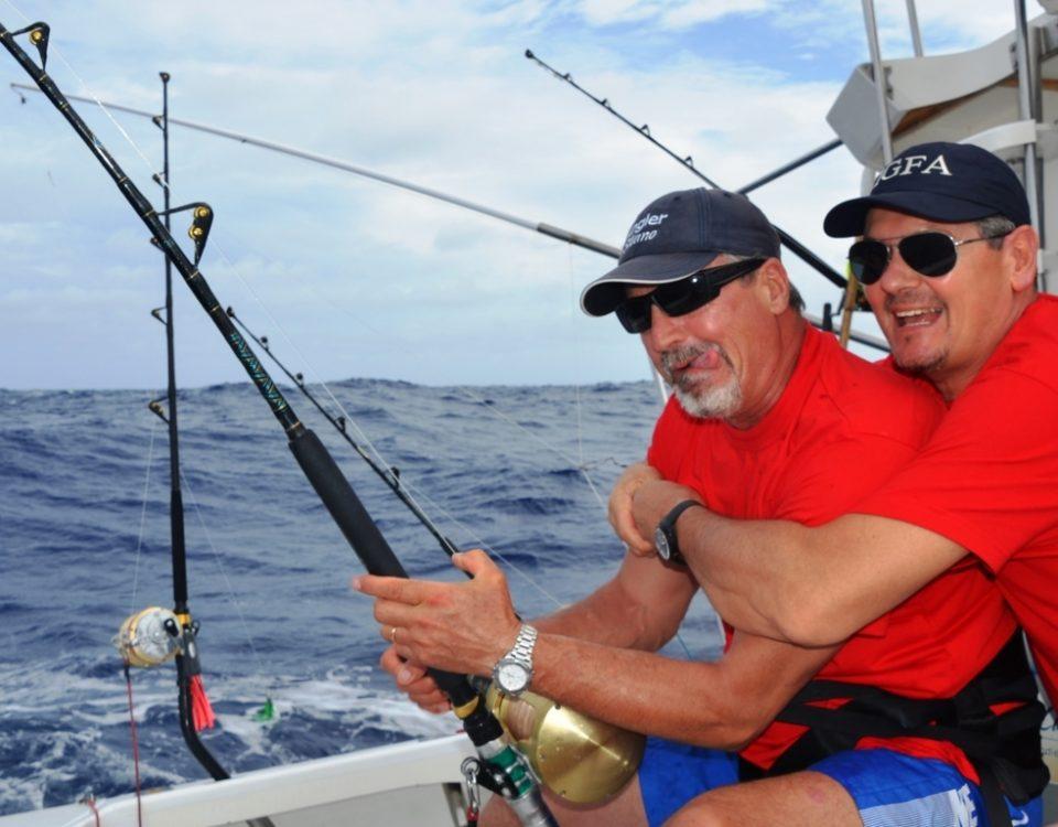 Viva Italia au fauteuil ! - Rod Fishing Club - Ile Rodrigues - Maurice - Océan Indien