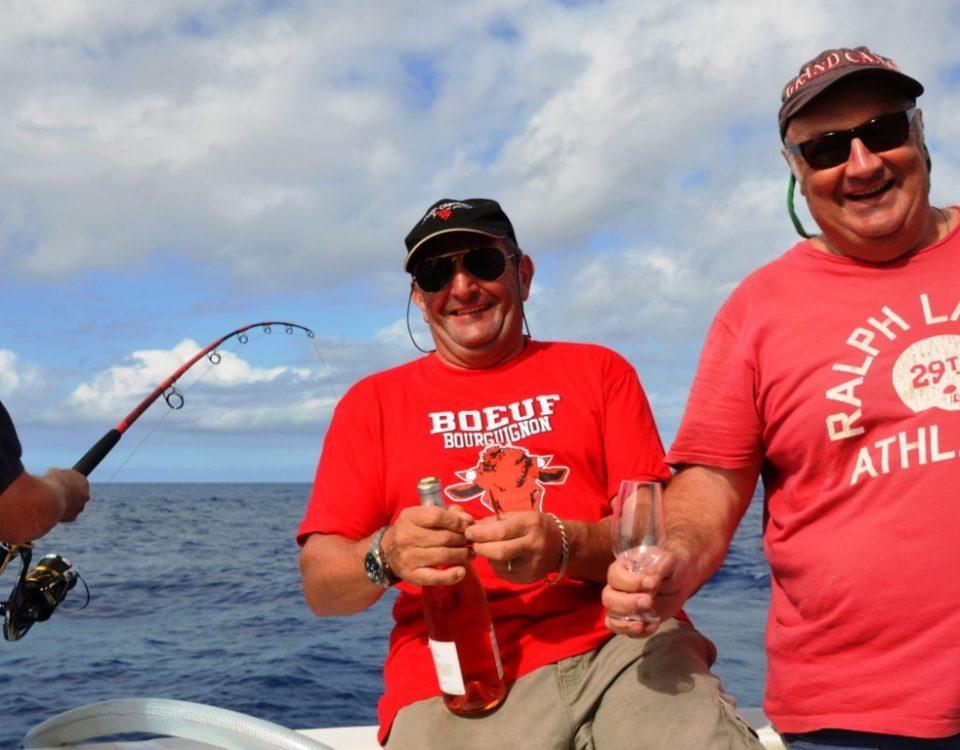 Vive la Bourgogne ! - Rod Fishing Club - Ile Rodrigues - Maurice - Océan Indien