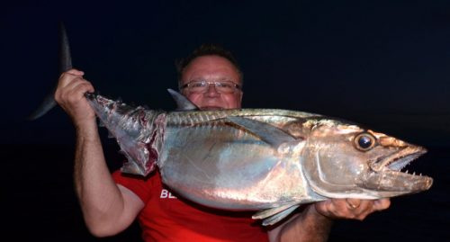 thon-dents-de-chien-attaque-lors-de-la-remontee-rod-fishing-club-rodrigues-ile-maurice-ocean-indien