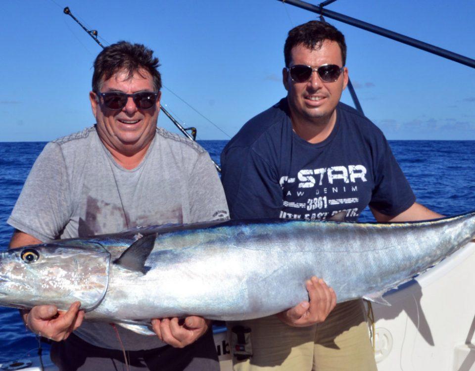 traine de pêche en mer