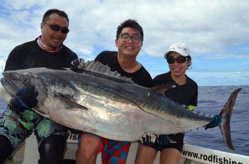 Doggy de 66kg en pêche a l'appât - www.rodfishingclub.com - Ile Rodrigues - Maurice - Océan Indien