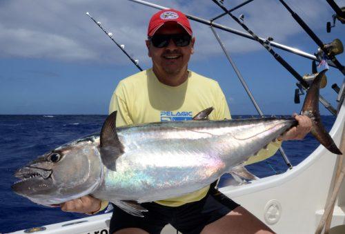 23kg doggy on baiting by Gianni - www.rodfishingclub.com - Rodrigues Island - Mauritius - Indian Ocean