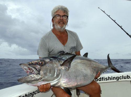 Sharky Team au diner - www.rodfishingclub.com - Ile Rodrigues - Maurice - Océan Indien