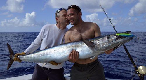 Wahoo de 29kg en pêche a la traîne par Tony - ww.rodfishingclub.com - Ile Rodrigues - Maurice - Océan Indien
