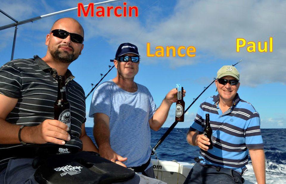 L'équipe du Captain Morgan - www.rodfishingclub.com - Ile Rodrigues - Maurice - Océan Indien