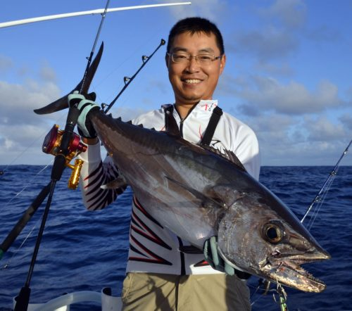 Doggy by Kevin on slow jigging - www.rodfishingclub.com - Rodrigues - Mauritius - Indian Ocean