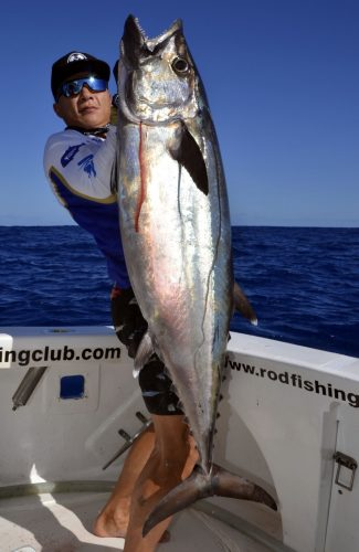 Doggy by Uhai on slow jigging - www.rodfishingclub.com - Rodrigues - Mauritius - Indian Ocean