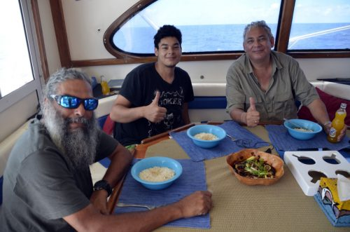 Enjoy your meal - www.rodfishingclub.com - Rodrigues - Mauritius - Indian Ocean