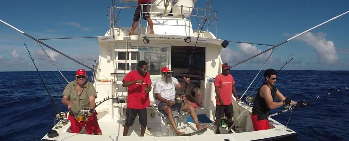Several strikes on trolling - www.rodfishingclub.com - Rodrigues - Mauritius - Indian Ocean