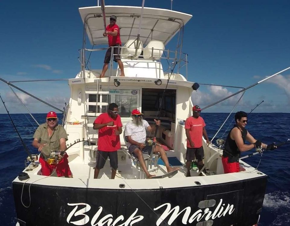 Several strikes on trolling - www.rodfishingclub.com - Rodrigues - Mauritius - Indian Ocean